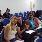 Alunas participativas