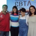 Marco Schio, Carolina Leite, Eliana Rodrigues e Paula Granero